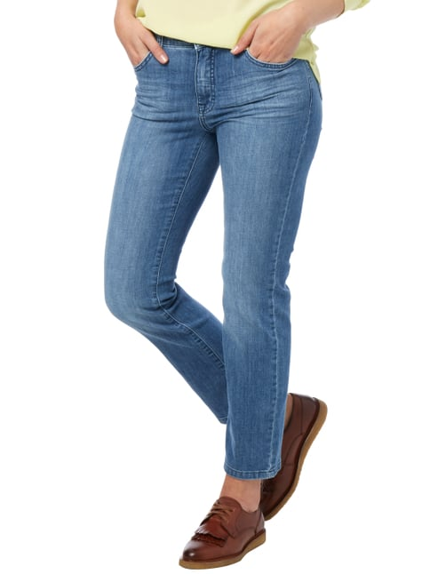 Angels Stone Washed Regular Fit Jeans mit Ziernähten Jeans meliert - 1