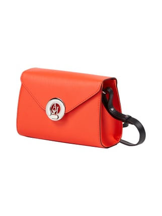 Crossbody Bag mit Metall-Logo Rot - 1