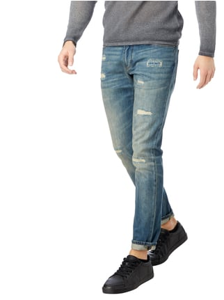 Armani Jeans Slim Fit Jeans im Used Look Jeans - 1