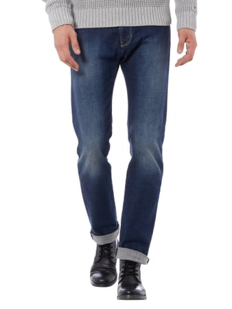 Armani Jeans Stone Washed Regular Fit Jeans Jeans - 1