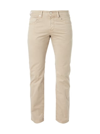 Regular Fit 5-Pocket-Hose Grau / Schwarz - 1