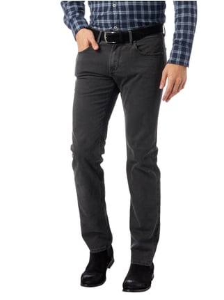 Baldessarini Regular Fit 5-Pocket-Hose mit Webstruktur Mittelgrau - 1