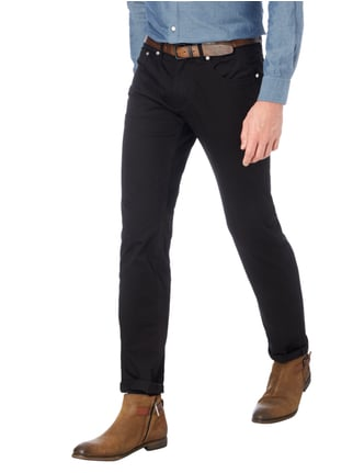 Baldessarini Regular Fit 5-Pocket-Hose Schwarz - 1