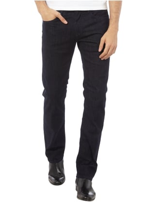 Baldessarini Rinsed Washed Regular Fit Jeans Dunkelblau - 1
