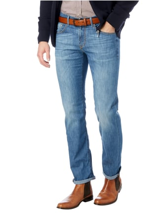 Baldessarini Stone Washed Regular Fit Jeans Bleu - 1