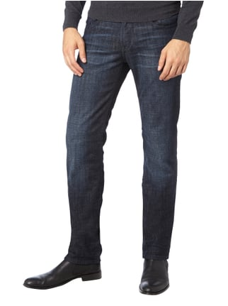 Baldessarini Stone Washed Regular Fit Jeans Marineblau - 1