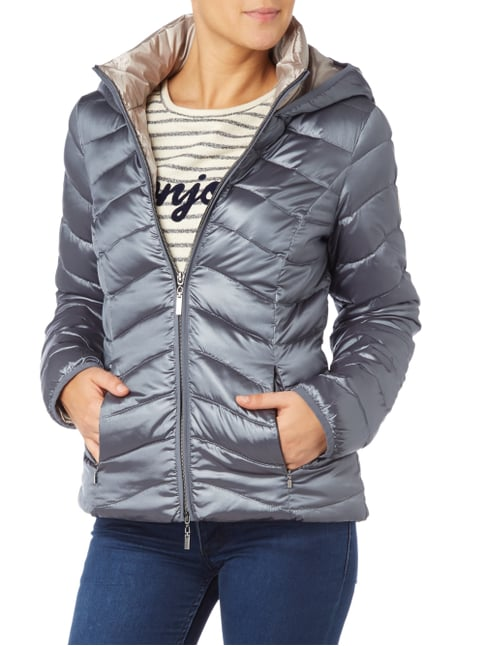 Beaumont Amsterdam Light-Daunenjacke mit Kapuze Graphit - 1