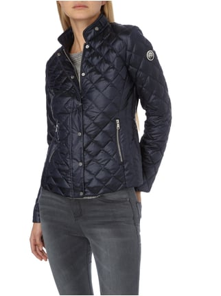 Beaumont Amsterdam Light-Daunenjacke mit Steppungen Marineblau - 1