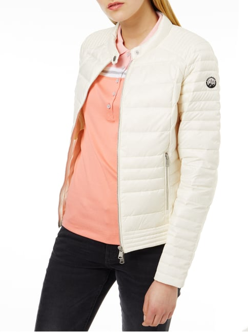 Beaumont Amsterdam Light-Daunenjacke mit Steppungen Offwhite - 1