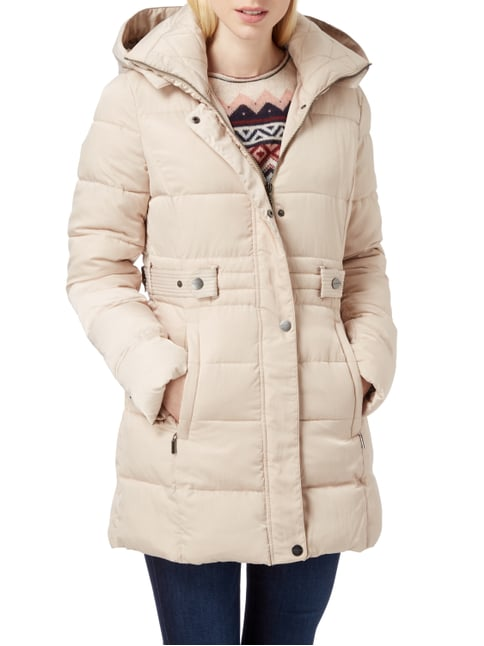 Beaumont Amsterdam Steppjacke mit abnehmbarer Kapuze Beige - 1