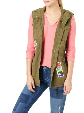 Blonde No. 8 Weste mit Patches Khaki - 1