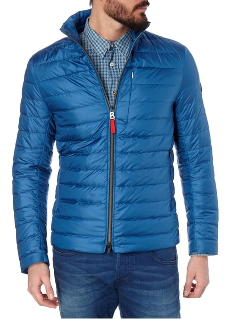 Bogner Fire + Ice Light-Daunenjacke mit Steppungen Royalblau - 1