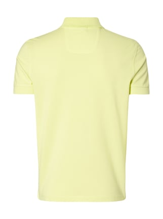 Boss Green Regular Fit Poloshirt aus reiner Baumwolle Hellgelb - 1