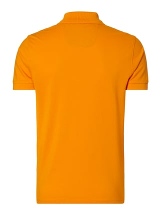 Boss Green Regular Fit Poloshirt aus reiner Baumwolle Orange - 1