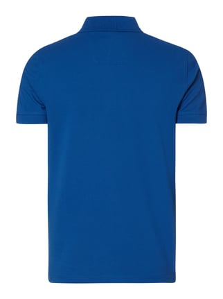 Boss Green Regular Fit Poloshirt aus reiner Baumwolle Royalblau - 1