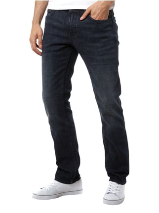 Boss Green Slim Fit Stone Washed Jeans Blau - 1
