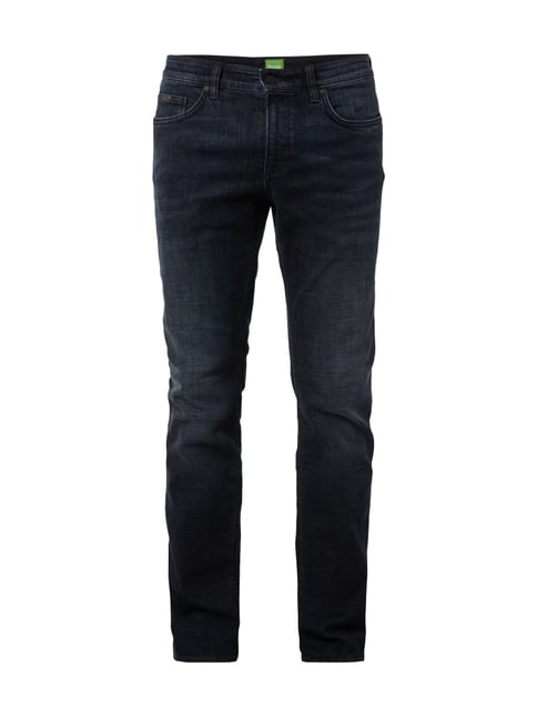 Slim Fit Stone Washed Jeans Blau / Türkis - 1