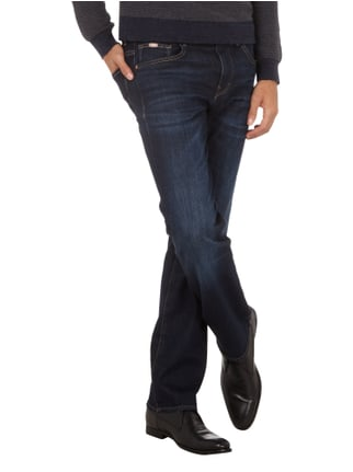 Boss Green Stone Washed Comfort Fit 5-Pocket-Jeans Dunkelblau - 1