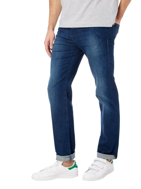 Boss Green Stone Washed Relaxed Fit 5-Pocket-Jeans Jeans - 1