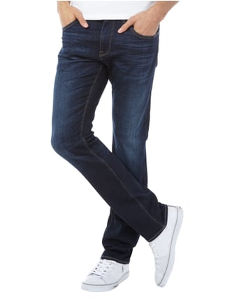 Boss Green Stone Washed Slim Fit Jeans Dunkelblau - 1