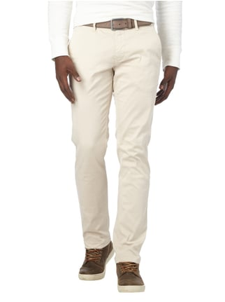 Boss Orange Slim Fit Chino mit Stretch-Anteil Beige - 1
