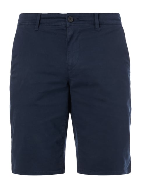 Slim Fit Chinoshorts mit Stretch-Anteil Blau / Türkis - 1
