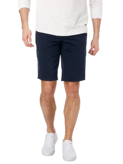 Boss Orange Slim Fit Chinoshorts mit Stretch-Anteil Dunkelblau - 1