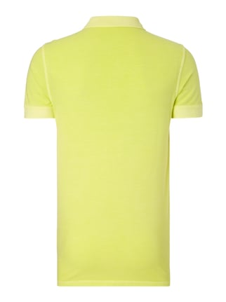 Boss Orange Slim Fit Poloshirt aus Baumwoll-Piqué Hellgelb - 1