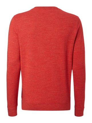 Boss Orange Sweatshirt mit Frottee-Aufnäher Rot - 1