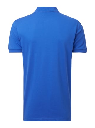 Boss Poloshirt mit Logo-Stickerei Royalblau - 1