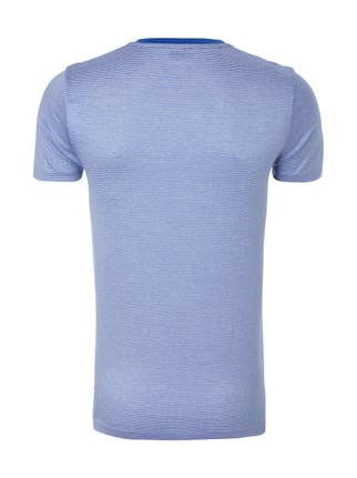 Boss Slim Fit T-Shirt mit Streifenmuster Royalblau - 1