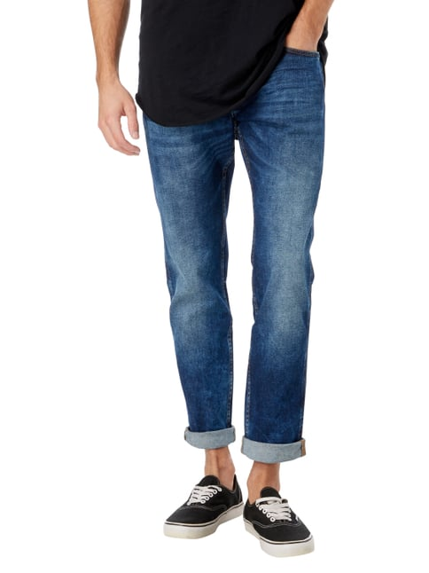Boss Stone Washed Slim Fit Jeans Blau - 1