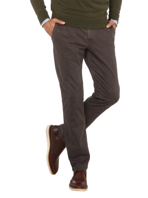 Brax Chino mit Stretch-Anteil Graphit - 1