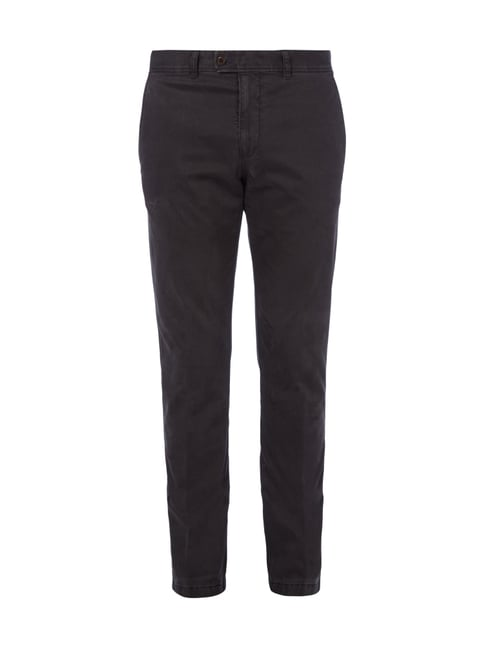 Regular Fit Chino mit Stretch-Anteil Grün - 1