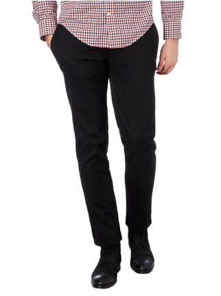 Brax Regular Fit Chino mit Stretch-Anteil Schwarz - 1