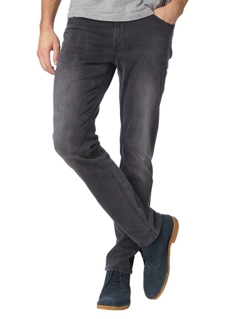 Brax Stone Washed Slim Fit 5-Pocket-Jeans Marineblau - 1