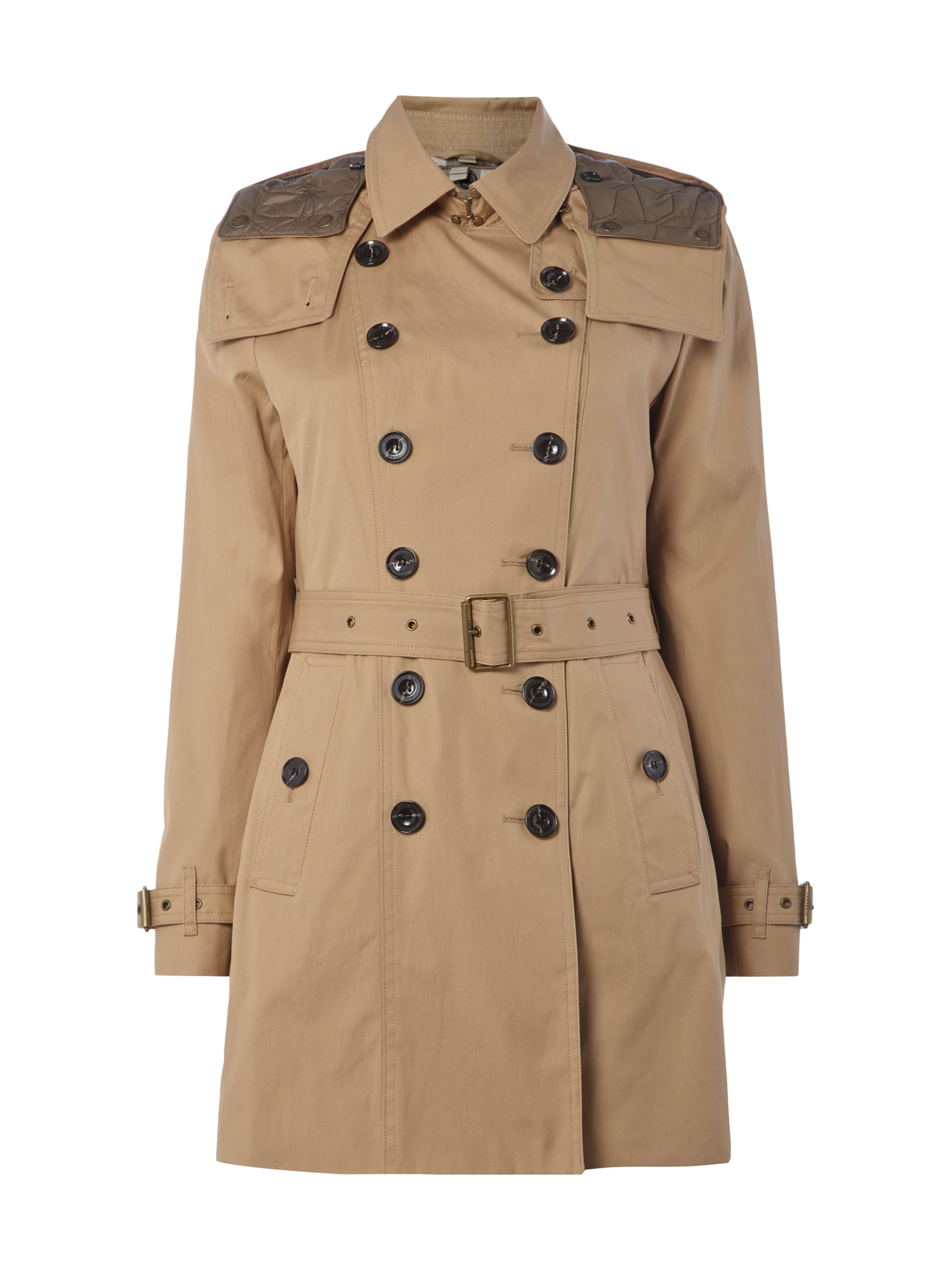 burberry brit trenchcoat mit herausnehmbarer steppweste in braun online kaufen 9380796 p c. Black Bedroom Furniture Sets. Home Design Ideas