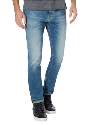 Calvin Klein Jeans Double Stone Washed Slim Straight Fit Jeans Jeans - 1