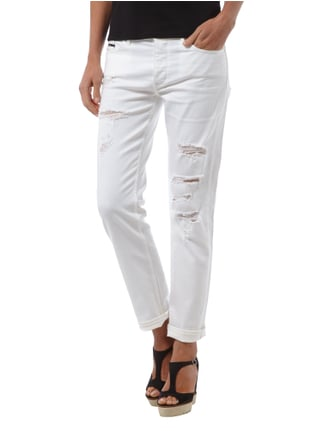 Calvin Klein Jeans Slim Boyfriend Fit Coloured Jeans Weiß - 1