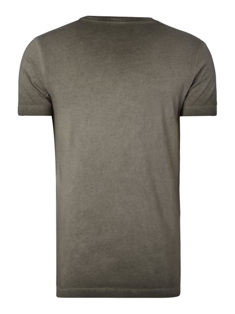 Calvin Klein Jeans T-Shirt im Washed Out Look Graphit meliert - 1
