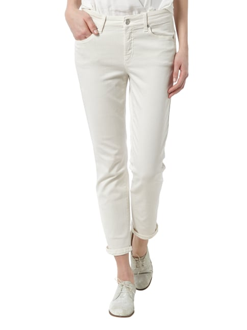 Cambio Coloured Jeans im 5-Pocket-Design Offwhite - 1