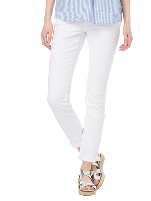 Cambio Coloured Skinny Fit Jeans Weiß - 1