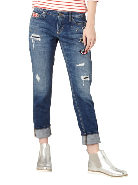 Cambio Leisure Fit Jeans im Destroyed Look Jeans - 1
