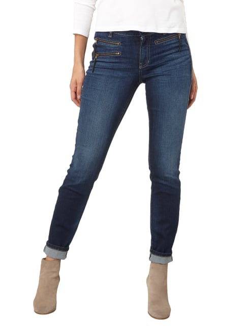 Cambio Light Stone Washed Skinny Fit Jeans Jeans - 1