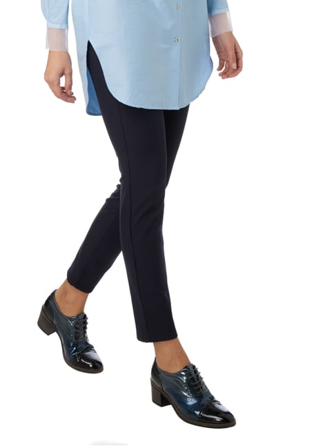 Cambio Skinny Fit 5-Pocket-Stretchhose Marineblau - 1