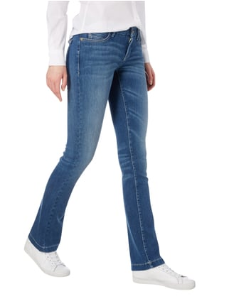 Cambio Stone Washed Boot Cut 5-Pocket-Jeans Jeans - 1