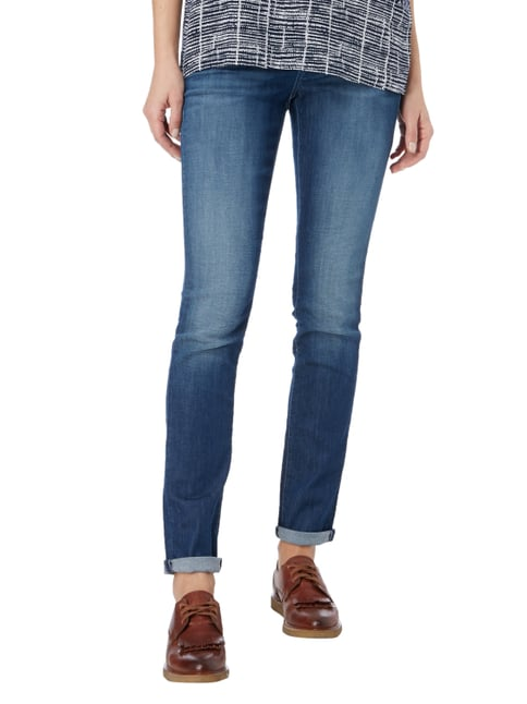 Cambio Stone Washed Skinny Fit Jeans Blau - 1