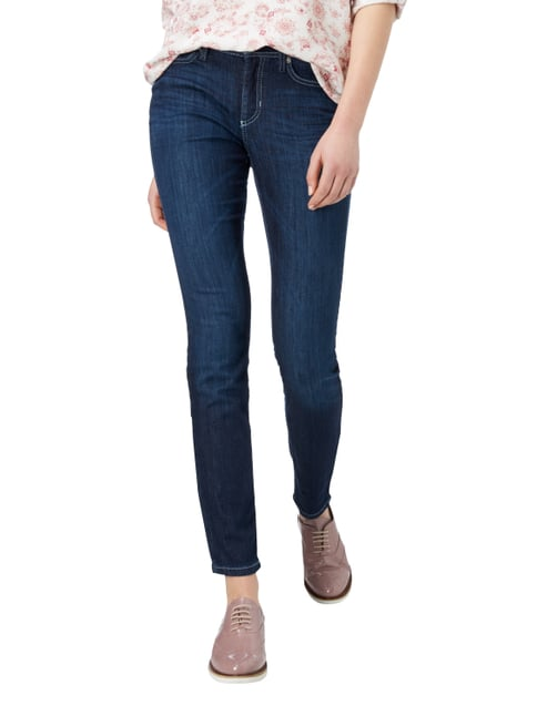 Cambio Stone Washed Slim Fit 5-Pocket-Jeans Jeans - 1