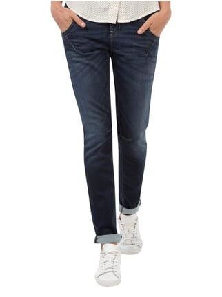 Cambio Stone Washed Sweatjeans im Leisure Fit Jeans - 1