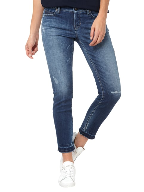 Cambio Used Look Modern Rise 5-Pocket-Jeans Jeans - 1